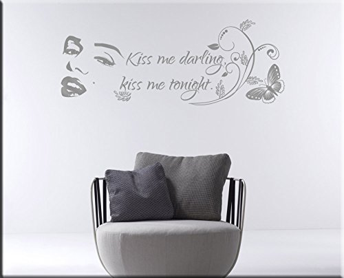 arredi-murali-marylin-wall-stickers-adesivi-murali-frasi-marilyn-monroe-citazione-adesivi-da-parete-