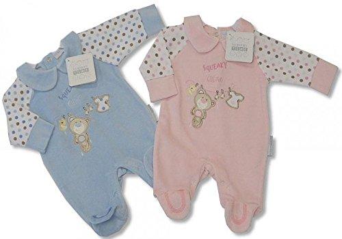 """Stramplerset """"Zwillinge Pärchen"""" velour in rosa und hellblau im Set! Zwillinge Pärchen zwillinge geschenk Baby Newborn Taufe Weihnachten"""