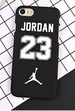 Coque iPhone 6/6S Michael Jordan noire et blanche 23