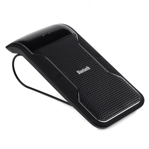 VicTsing Bluetooth Visier Multipoint-Freisprecheinrichtung Car Kit-Wireless-Freisprecheinrichtung Lautsprecher für Apple iPhone 5S 5C 55G 4S 4G (Car Kit Für Iphone 5s)