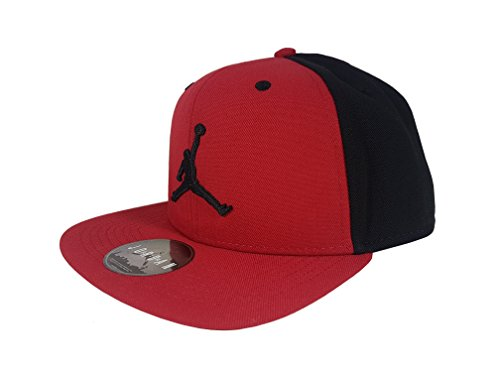 Air Jordan Basketball Cap Neu Rot Schwarz Men´s (Red Snapback Jordan)