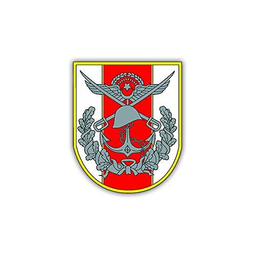 Aufkleber/Sticker Türkische Armee Wappen Abzeichen NATO Heer 6x7cm A1201 (Auto Abzeichen Armee)