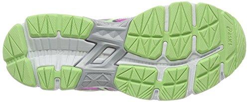 Asics Gt-1000 4 Gs, Chaussures de Running Entrainement Mixte adulte Rose (Pink Glow/Pistachio/Indigo Blue 3587)