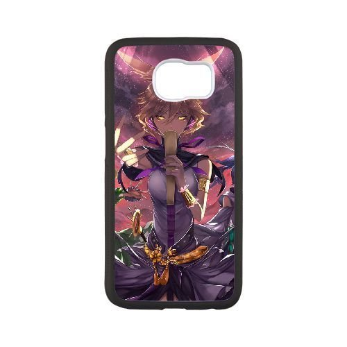 hd-exquisite-image-for-samsung-galaxy-s6-cell-phone-case-black-toyosatomimi-no-miko-touhou-project-p