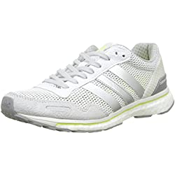 adidas Adizero Adios W, Zapatillas de Running para Mujer, Blanco (Ftwbla/Plamet / Amasol), 38 EU