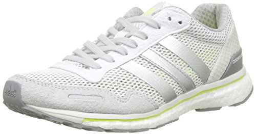 adidas Adizero Adios W, Zapatillas de Running para Mujer, Blanco (Ftwbla/Plamet/Amasol), 36 2/3 EU