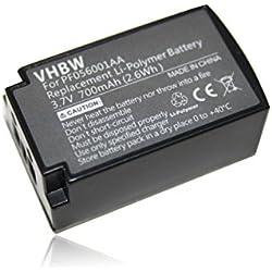 vhbw Batterie 700mAh (3.7V) pour Casque Audio Bluetooth Parrot ZIK remplace PF056001AA.