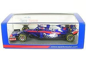 SPARK S6080 - Coche en Miniatura, Color Azul y Rojo