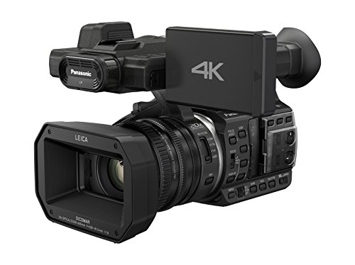"Panasonic HC-X1000E - Videocámara (18.91 MP, 4K, FullHD, pantalla de 0.45"", zoom óptico 20x, WiFi, NFC, HDMI), negro"