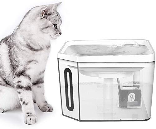 HWZQHJY Haustier-Wasser-Zufuhr Prevent Dry Brennen Ultra-Silent Pumpe for Katzen und Hunde