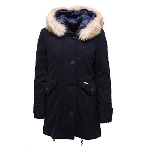 3049r-piumino-woolrich-eskimo-tecno-wool-blu-giubbotto-donna-jacket-woman-xs