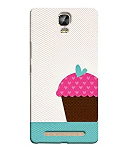 Fuson Designer Back Case Cover for Gionee Marathon M5 Plus (Simple Cute Girls Ladies Woman Female College)