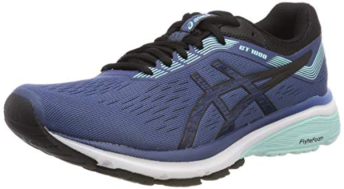 ASICS Damen Gt-1000 7 Laufschuhe Blau (Grand Shark/Black 401) 40 EU