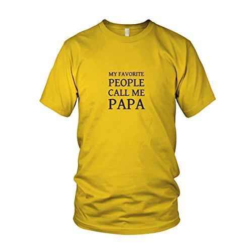 n T-Shirt, Größe: XXL, Farbe: gelb (Tochter Daddy Kostüme)