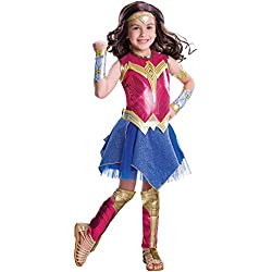 Rubies Girls Deluxe Wonder Woman Costume S