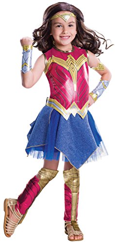 Wonder Woman Kinderkostüm Gr. M (Woman Wonder Kostüm Gürtel)