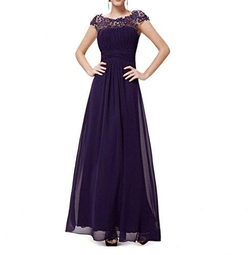 KA Beauty - Robe - Fille Violet - Violet
