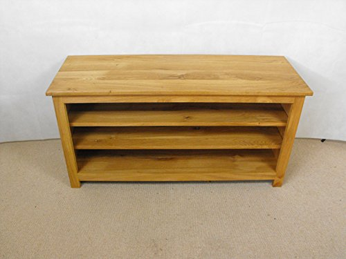 Pine TV Unit, 2 ripiano, supporto o armadio