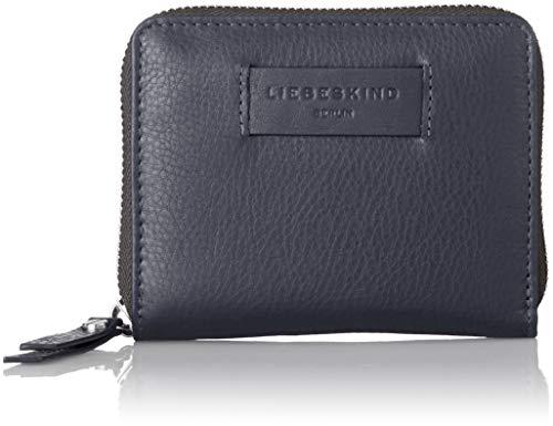 Blaue Damen Geldbörse (Liebeskind Berlin Damen Essential Conny Wallet Medium Geldbörse, Blau (Navy Blue), 3x11x13 cm)