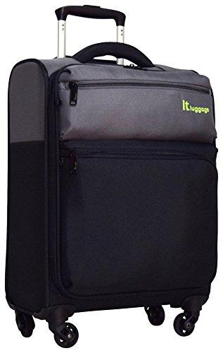 IT Luggage ,  Damen Herren Koffer Pewter / Schwarz 45,7 cm