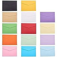 NBEADS - 140 Sobres de Papel en Blanco, 8 x 11 cm, Tarjetas de felicitación, Manualidades o Invitaciones de Fiesta de Boda
