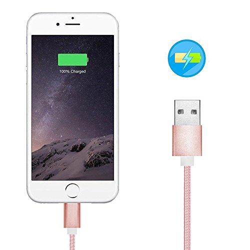 First2savvv 2 x argento 2 in 1 Cavo Lightning & micro USB con calamita. Connessione magnetica per telefono cellulare Android & Apple iPhone 7 6S/6 Plus, iPhone 5S/5C/5, iPad Pro/Air 2, iPad Mini 4, Sa 2 x rosa CTX-SA-X2-02