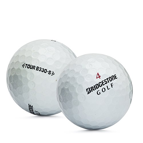 Bridgestone Unisex B330S mint Qualität. Offizielles Anstrich Golf Bälle–24Stück