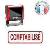 COMPTABILISE | TRODAT formule commerciale | Tampon encreur professionnel avec texte pré-écrit 19 formules disponibles