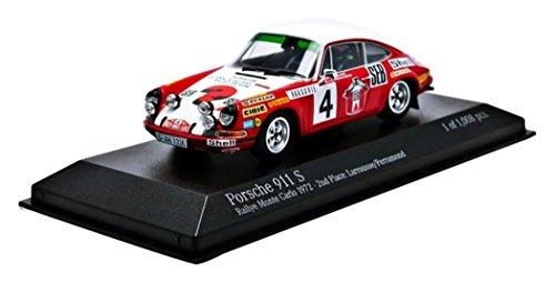 minichamps-pm400726804-los-coches-modelo-porsche-911-s-2nd-puesto-n-4-monte-carlo-1972-larrousse-per