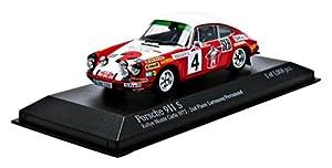 Minichamps Pm400726804 - los Coches Modelo Porsche 911 S 2nd Puesto nº 4 Monte Carlo 1972 Larrousse-Perramo Escala 1:43