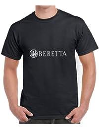 Beretta Pistola de Armas para Disfraz de T-Camiseta de Manga Corta Camiseta para Hombre