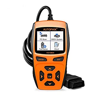 AUTOPHIX 7710 FD+OBDII Scanner, komplettes System Scan Tool für Ford, Lincoln, Mercury und OBDII EOBD Motor-Fehlercodeleser