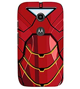 PRINTSHOPPII SUPERHERO Back Case Cover for Motorola Moto E2::Motorola Moto E (2nd Gen)