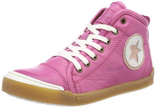 Bisgaard Unisex-Kinder Schnürschuhe Hohe Sneaker, (Pink), 38 EU