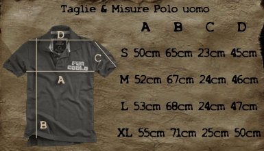 Fun Coolo Polo shirt a manica corta MP2 vintage colori vari S M L XL Giallo