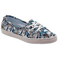Lacoste ZIANE CHUNKY FUN Koyu Mavi BEYAZ Kadın Sneaker