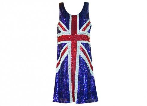 JB Jenny 's Bedroom Kleid Pailletten England