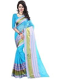 Kamela Saree Women's Silk Saree (Mona Blue_Blue)