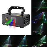 Disco Party Lights- ✌WTD! 3D Effekt RGBYP Vollfarbe Party Beam Licht, Disco Magic Lampe, Sound Actived Automatische Disco KTV Bar Pub Haus KTV -424 (Farbe : RGB Beam)