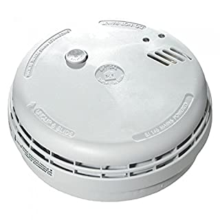 Set of 2 x Aico EI146 RC Mains Hard Wired Smoke Alarms with 9V Battery Back Up