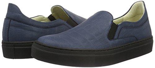 Jonny`s Vegan Damen Luigina Sneakers, Blau (Marino 1), 40 EU - 5
