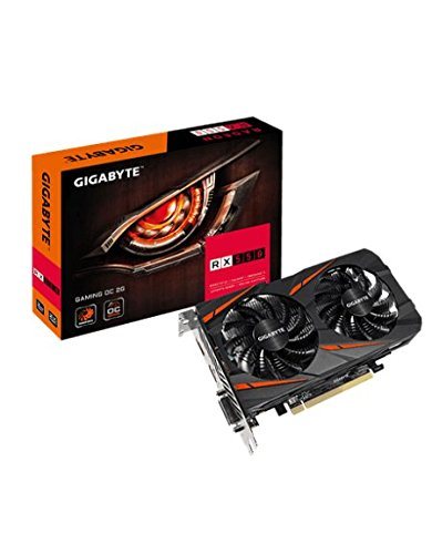 Price comparison product image GIGABYTE Radeon RX 550 GAMING OC 2 GB GDDR5 DP / HDMI / DVI-D DL Graphics Card - Black