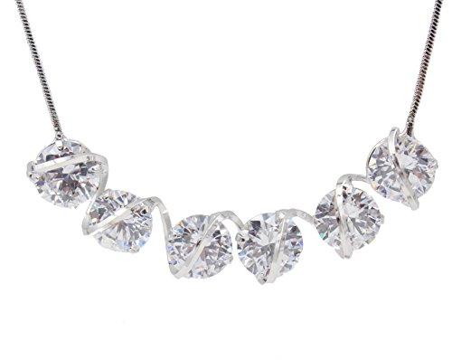 totoroforet-of-swarovski-elements-crystal-necklace-chain-silver