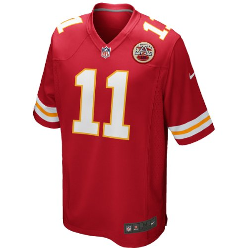Nike Alex Smith Kansas City Chiefs Youth Game Jersey. (Red) Medium Alex Smith Jersey