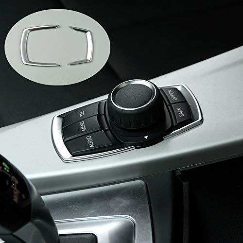 FSXTLLL Autokonsole Multimedia-Fahrertasten Dekorative Verkleidung Pailletten, für BMW 1/2 Serie F20 F21 F45 X1 F48, Innenausstattung -