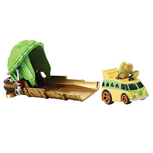 Teenage Mutant Ninja Turtles 97861 t-Machines Launcher mit Mikey Fingerring in Party Van, ()