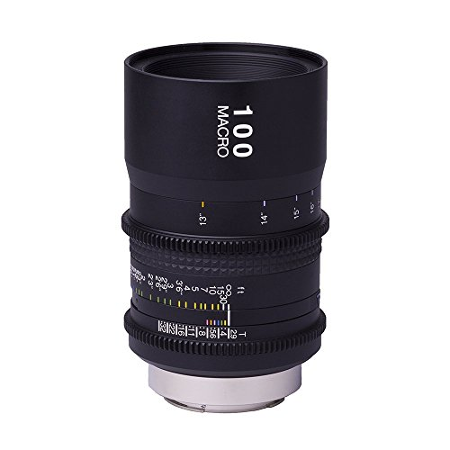 Tokina 100mm Macro t2.9cine lente para Canon EF