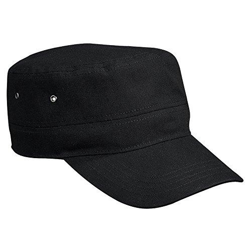 MYRTLE BEACH - Casquette style militaire - army - coton renforcé - MB095 - mixte homme / femme Noir