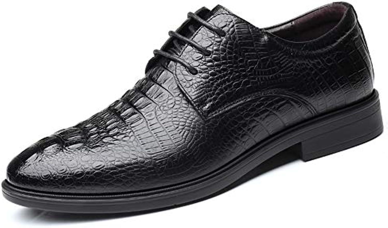 Xujw-scarpe, 2018 Scarpe Stringate Basse Scarpe Oxford da Uomo da Uomo, Scarpe Casual Classiche da Coccodrillo... | Arte Squisita  | Uomini/Donne Scarpa
