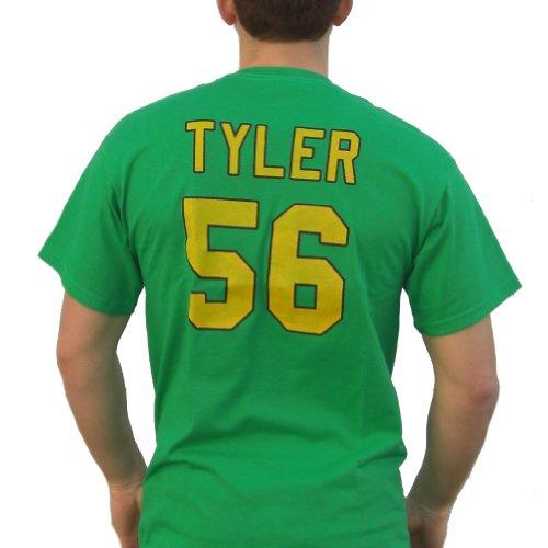 (Russ Tyler # 56Mighty Ducks Film Jersey T-Shirt Knuckle Puck Kostüm Kenan Gr. XXL, grün)